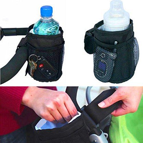 Bazaar Kinderwagen-Flaschentasche, wasserdicht, hält warm, Vakuum-Becher, isolierter Strohhalm-Zubehör