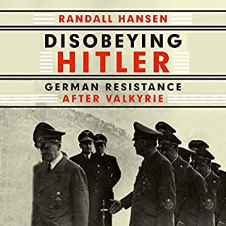 Disobeying Hitler audiobook cover art