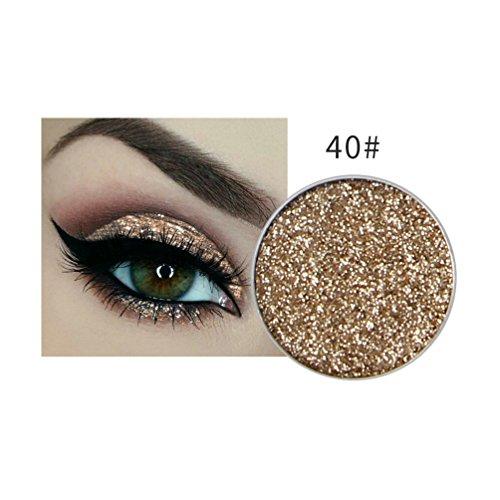Momoxi Lidschatten,Augen Make-up Augenbrauenstift Schimmern Sie Glitter Lidschatten Pulver Palette Matte Lidschatten Kosmetik Make-up