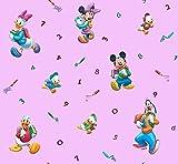 Exclusiv 100% Baumwolle Disney Mickey Mouse Minnie Mouse Gardinen Vorhang 140x290cm EDEL