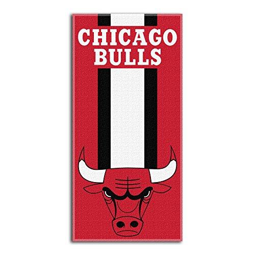 """Toalla de Playa de la NBA Chicago Bulls Zone Read, 30"""" x 60"""""""