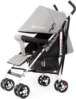 GXH- ベビーカーは簡単な折りたたみ子供幼児車、4.6kg超軽量キャリングベルト、収納バスケット付き