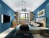 B-GI Papel Pintado No Tejido Moderno Decoración 10 m (L) x 0.53 m (W) Para La Casa Dormitorio Sala De Estar TV Pared De Fondo Hotel Restaurante,Blue Series-D