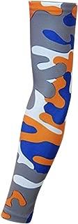 Sports Farm New Royal Blue Orange Gray White Woodland Camo Arm Sleeve