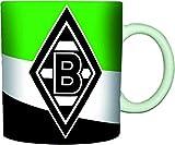Unbekannt VFL Borussia Mönchengladbach 16984 Fohlenelf-Artikel - Tasse Schrägstreifen -...