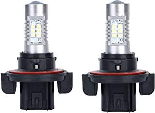 100W LED Bulbs with CREE LED Fit for Polaris Ranger General RZR 570 800 900 1000 Super White PACK of 2