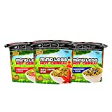 Mindless Foods Hot Cereal Variety Pack   Keto Oatmeal Alternative, Gluten Free, Grain Free, No Added Sugar, Vegan, Dairy Free, Sweetened with Blossom Monk Fruit   Maple Brown Sugar, Strawberries & Cream, Blueberries & Cream`