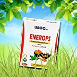 Liboc Enerops Ayurvedic Energy Drops For Immunity, Irritating Cough, Asthma Detoxification Of Kidneys, Relieves Stress, Reduces Acidity, Ulcers and Improved Digestion With Turmeric & Tulsi (20ml)