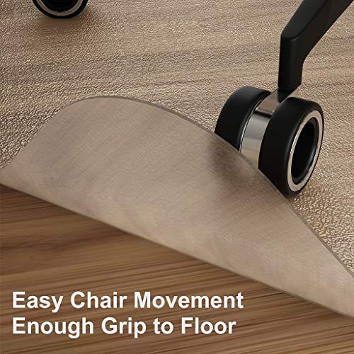 MO&SU PVC Stoel Mat, Transparant Vloer Mat Smaakloos Dikke Rechthoek Lay Platte Vloer Beschermer Voor Harde Vloer Houten Vloer Kantoorstoel