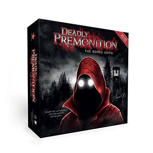 Rising Star Games Deadly Premonition The Brettspiel