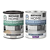 Rust-Oleum 367602 Home Interior Floor Coating Kit, Semi-Gloss Greige
