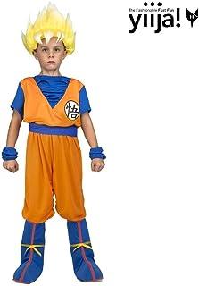 My Other Me Me Me- Saiyan Goku Dragon Ball Disfraz Multicolor (231318