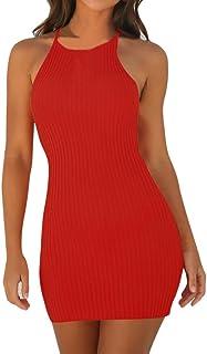 newest d32f3 943c7 Amazon.it: vestitini rossi