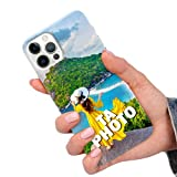 CuteCases Clear Housse pour LG X Power 2 Coque de Téléphone Personnalisée avec Photo...