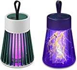 Bweele Matamoscas eléctrico ultrasilencioso, con USB, sin radiación, no tóxico