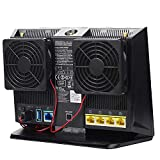 Router Cooling Fan 7CM Ultra Silent USB 5V Radiator for RT-AC68U AC86U AC1900P EX6200 AC15 Router Dissipation Temperature