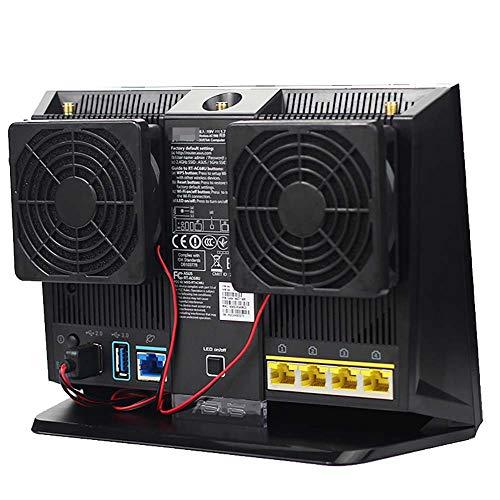 Router Cooling Fan 7CM Ultra Silent USB 5V Radiator for...