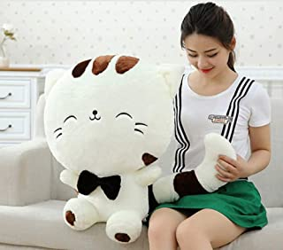 Cherubs X-Large Size Cute Cat Plush Soft Toy 65 cm (White)