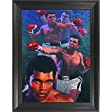 Muhammad Ali Boxing 3D Poster Wall Art Decor Framed Print | 14.5x18.5 | Lenticular Posters & Pictures |...