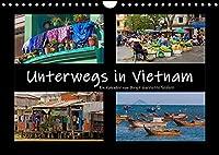Unterwegs in Vietnam (Wandkalender 2022 DIN A4 quer): Bilder aus dem Alltag in Vietnam (Monatskalender, 14 Seiten )
