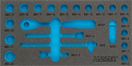 Hazet 2K-Weichschaum-Einlage für Werkstatt, 1 Stück, 163-353L
