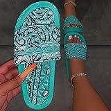 Zapatillas Casa Chanclas Sandalias Cómodas Zapatillas De Bandana Para Mujer, Diapositivas Para Interiores Y Exteriores, Zapatillas Para El Hogar, Zapatos Para El Hogar, Zapatillas Con Punta Suave