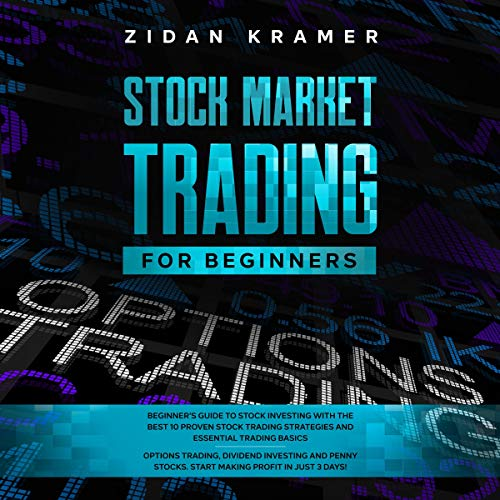 『Stock Market Trading for Beginners』のカバーアート