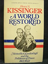 A World Restored by Kissinger (1996-04-12)