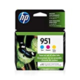 HP 951 | 3 Ink Cartridges | Works with HP Officejet Pro 251dw, 276dw, 8600 Series, 8100 | Cyan, Magenta, Yellow | CN050AN, CN051AN, CN052AN