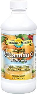 Dynamic Health Liquid Vitamin C Natural Citrus   1000 Mg   8 Ounce