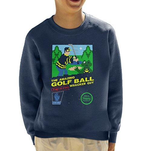 Cloud City 7 Happy Gilmore Amazing Golf Ball Whacker Guy The Video GameKid's Sweatshirt