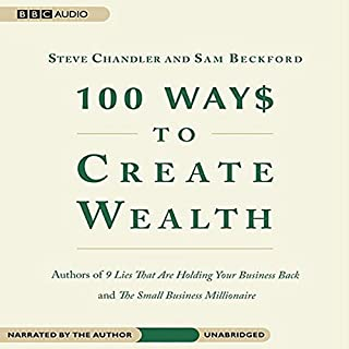 100 Ways to Create Wealth audiobook cover art
