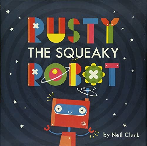 Rusty The Squeaky Robot product image