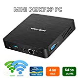 Nouvelle Version du Z83-F Mini PC 4K/4GB/64GB, Processeur Intel Atom X5-Z8350,...