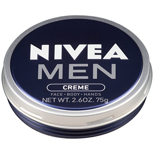 NIVEA Men Creme - Multipurpose Cream for Men - Face, hand and Body Lotion - 2.6 oz. Tin