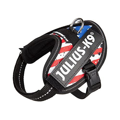 Julius-K9 16IDC POWERHARNESS USA Flag (USA Flag, Baby 1)
