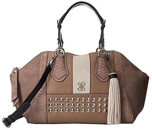 GUESS Knoxv1lle Taupe Satchle Bag Handbag Purse