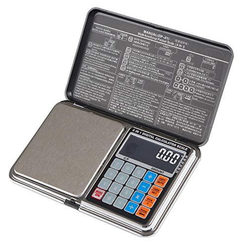Mini joyería balanza electrónica contando puntos de precio gramo de peso portátil mini balanza de precisión balanza de medición 0.01g 500g / 0.01g