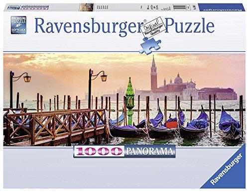 Ravensburger- Gondole a Venezia Puzzle, Multicolore, 15082