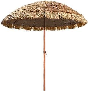 Come Costruire Un Ombrellone Di Paglia.Amazon It Ombrellone Per La Spiaggia In Paglia Includi Non Disponibili Giardino E Giardinaggio