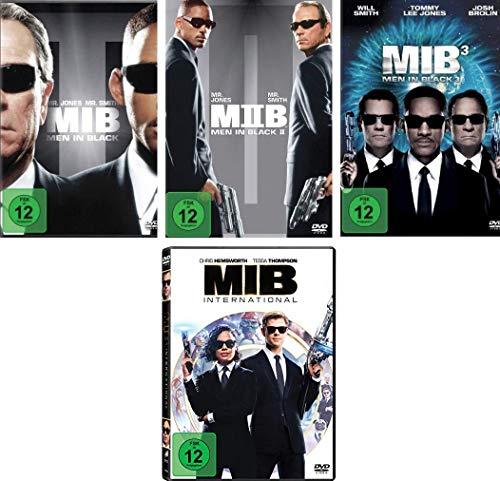 Men in Black 1-4 im Set - Deutsche Originalware [4 DVDs]
