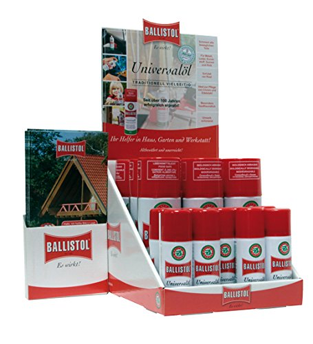 Ballistol Display mit Aerosoldosen Spray 9+9, 21840