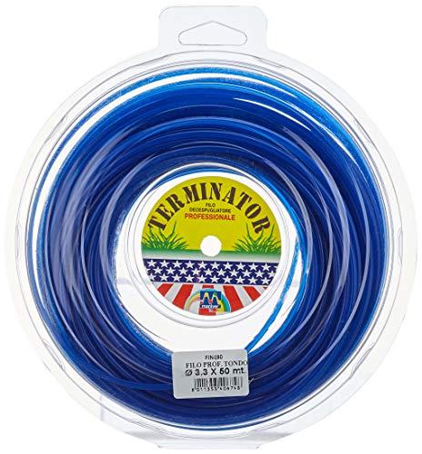 Maniver FIN490 Filo Decespugliatore, Blu, 22x21x5.5 cm