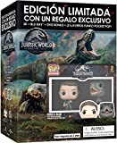 Jurassic World 2 El Reino Caido (BD3D+BD+DVD Extras) - Edición 2 Llaveros Funko [Blu-ray]
