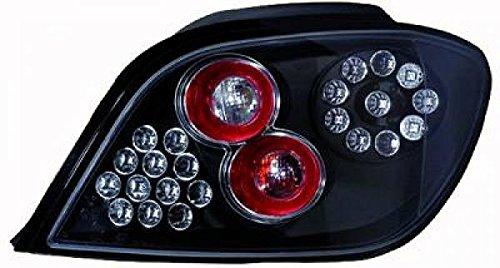 in.pro. 4234998 HD achterlichten Peugeot 307, bouwjaar: vanaf 2001 alleen hatchback, helder zwart
