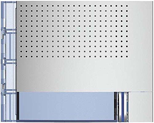 Bticino placas new sfera - Placa frontal audio basico 1p1 contactos allmetal