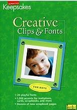 CD Clips & Fonts Boys