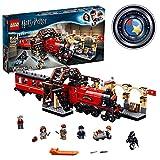 LEGO 75955 Harry Potter Expreso de Hogwarts y Andén 9 y 3/4 Juguete de Construcción del Tren y Estación con 5 Mini Figuras
