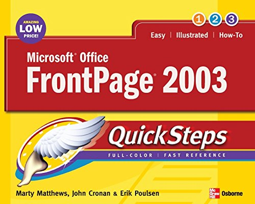 Microsoft Office FrontPage 2003 QuickSteps (English Edition)