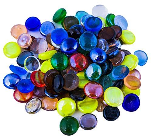 100X Scrylic Crystal Beads Stone Nugget For Fish Tank Squarium Decor SU   SALE